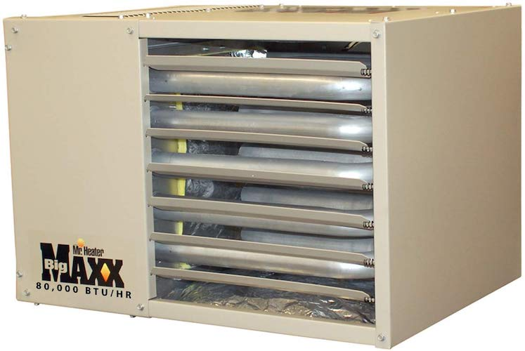 1. Mr. Heater F260560 Big Maxx MHU80NG Natural Gas Unit Heater