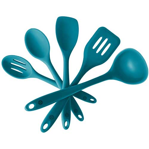 Best Silicone Kitchen Utensils 6. StarPack Basics Silicone Kitchen Utensil Set (5 Piece Set, 10.5