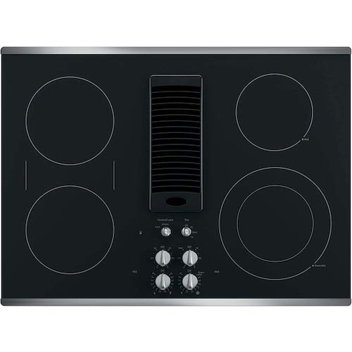 2. GE PP9830SJSS 30 Inch Smooth top Electric Cooktop