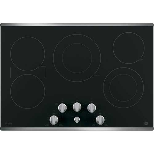 6. GE PP7030SJSS 30 Inch Electric Cooktop, ADA Compliant Fits Guarantee