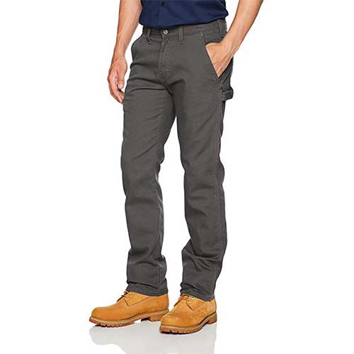 Best Work Pants for Construction Workers 5. Dickies Men's Tough Max Duck Carpenter Pant