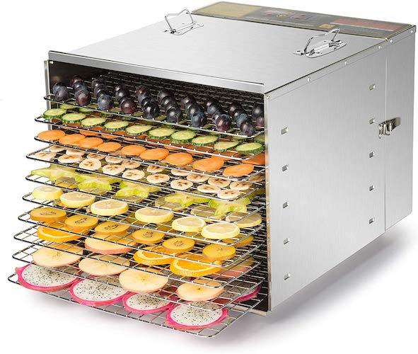 9. CO-Z Grade Commercial Stainless Dehydrator