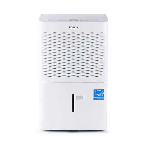 1. TOSOT 70 Pint Dehumidifier with Pump for Large Rooms up to 4500 Square Feet