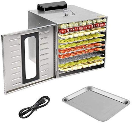 10. Homgrace Commercial Kitchen Food Dehydrator
