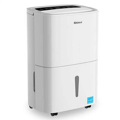 7. Shinco 70 Pint Energy Star Dehumidifier with Pump