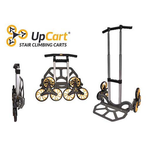 Best Hand Truck for Stairs 4. UpCart Lift 200lb Capacity Stair Climbing Folding Hand Truck