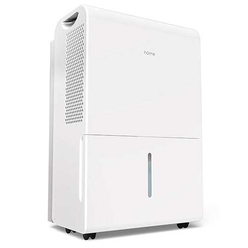 3. hOmeLabs 70 Pint Dehumidifier (with Pump) Featuring Intelligent Humidity Control