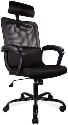8. Smugdesk Ergonomic Office Chair High Back Mesh Office Chair Adjustable Headrest Computer Desk Chair