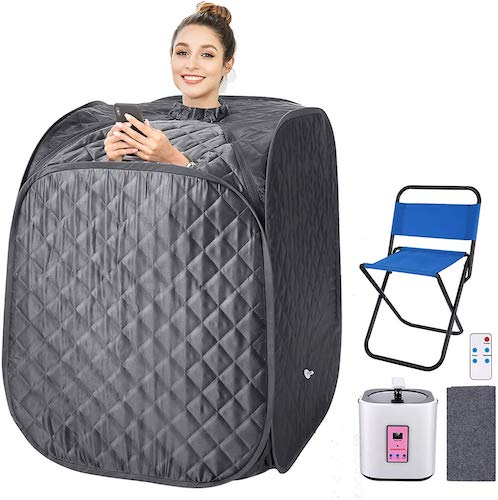 9. Portable Steam Sauna Spa by OppsDecor