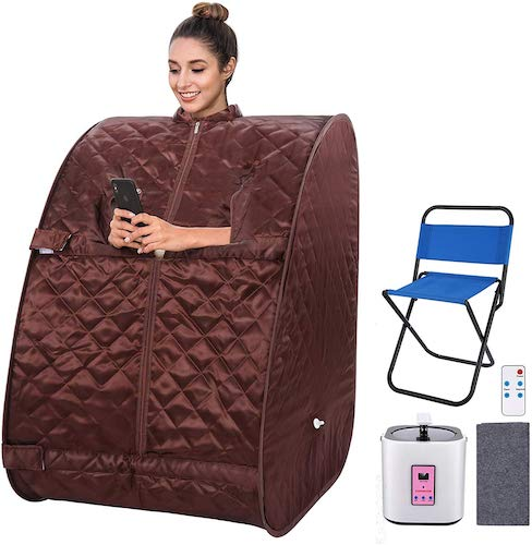 8. OppsDecor Portable Steam Sauna