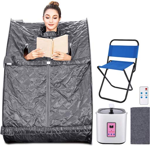 1. Aceshin Portable Steam Sauna Home Spa