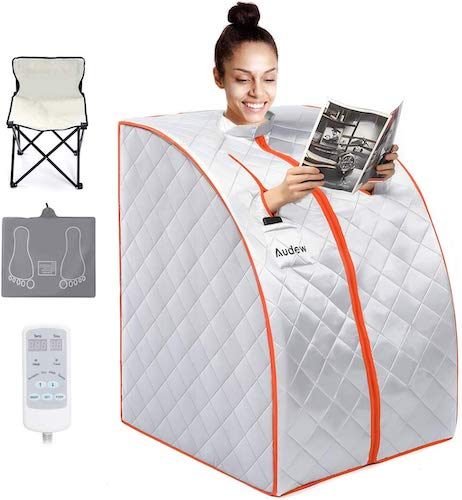 10. Audew Infrared Sauna Portable Infrared Home Spa