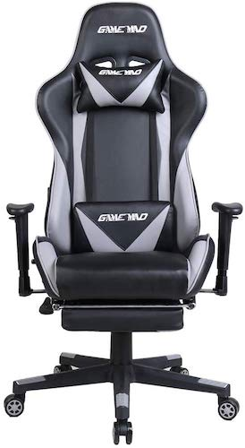 6. High Back PU Leather Swivel Gaming Chair