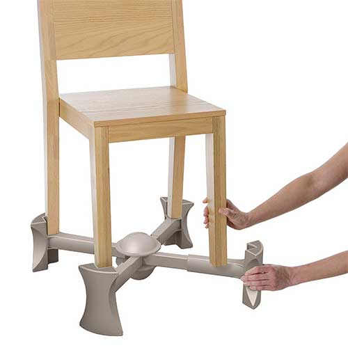8. KABOOST Portable Chair Booster - Natural