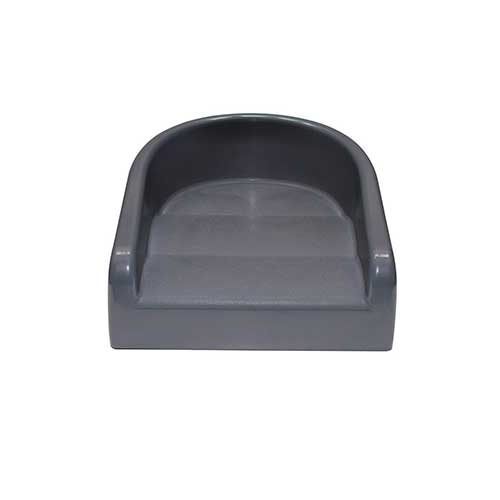4. Prince Lionheart Soft Booster Seat, Charcoal Grey