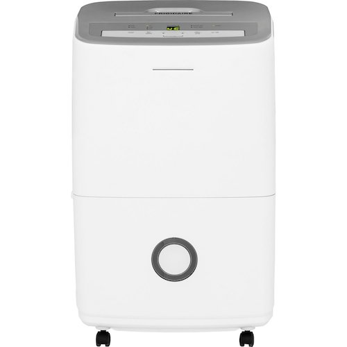 5. Frigidaire 50-Pint Dehumidifier with Effortless Humidity Control, White