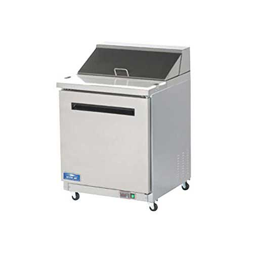 2. Arctic Air AMT28R 29-Inch 1-Door Mega Top Refrigerated Sandwich/Salad Prep Table