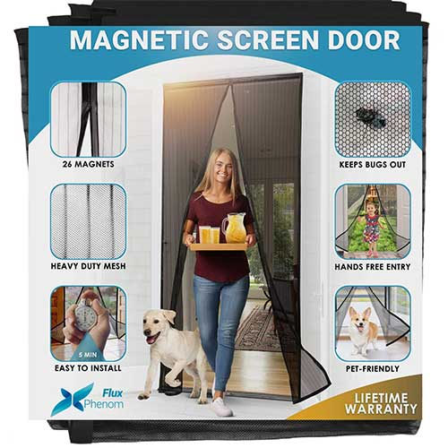 7. Flux Phenom Reinforced Magnetic Screen Door