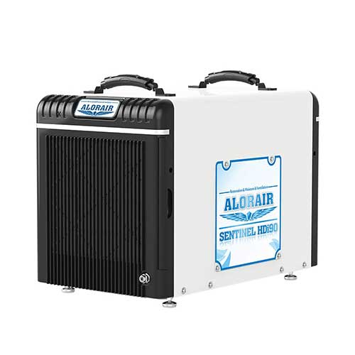 10. AlorAir Basement/Crawlspace Dehumidifiers 198PPD (Saturation)