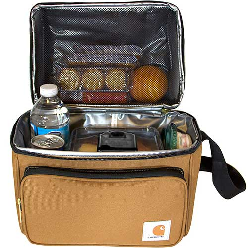 3. Carhartt Deluxe Dual Compartment Insulated Lunch Cooler Bag