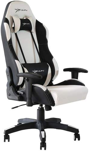 2. E-WIN Gaming Chair Ergonomic High Back PU Leather Racing Style