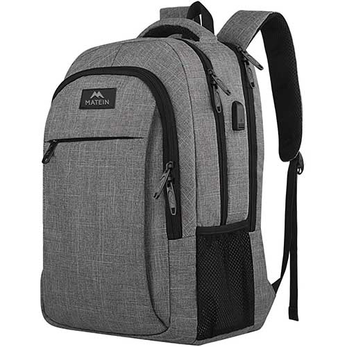 2. Travel Laptop Backpack, Business Anti-Theft Slim Durable Laptops Backpack