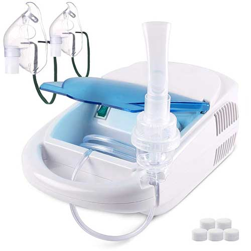 8. TTstar Compressor System Personal Cool Mist Inhaler Machine Kit