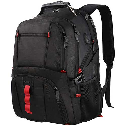 1. Extra Large Backpack, TSA Friendly Durable Travel Laptop Computer Backpack