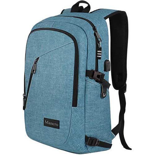 3. School Backpack for Women, Anti-Theft College Student Backpack