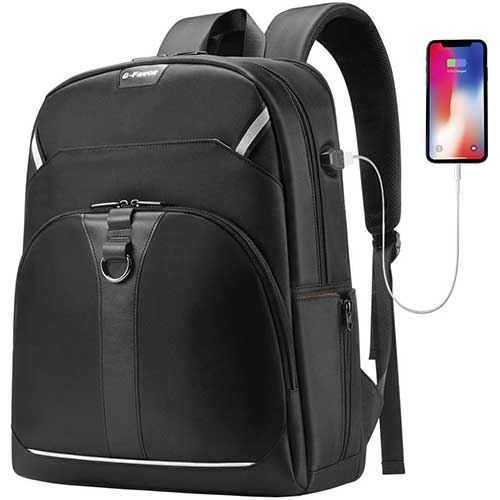 4. G-FAVOR Travel Laptop Backpack