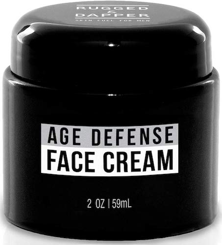 4. RUGGED & DAPPER Face Cream for Men, Anti-Aging Day and Night Cream, 2 Oz