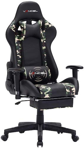 7. Gaming Chair Office Desk Chair High Back Computer Chair Ergonomic Adjustable Racing Chair Executive PC Chair
