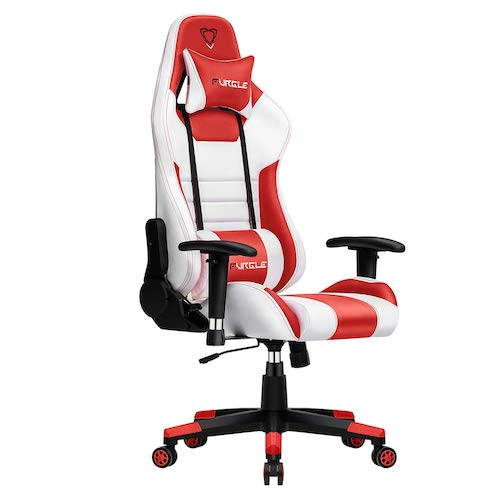 8. Furgle Gaming Chair Racing Style High-Back Office Chair