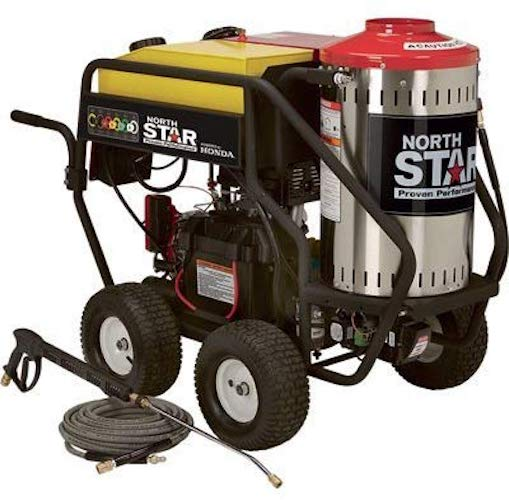 2. NorthStar Gas Wet Steam and Hot Water Pressure Washer - 3000 PSI, 4.0 GPM, Honda Engine