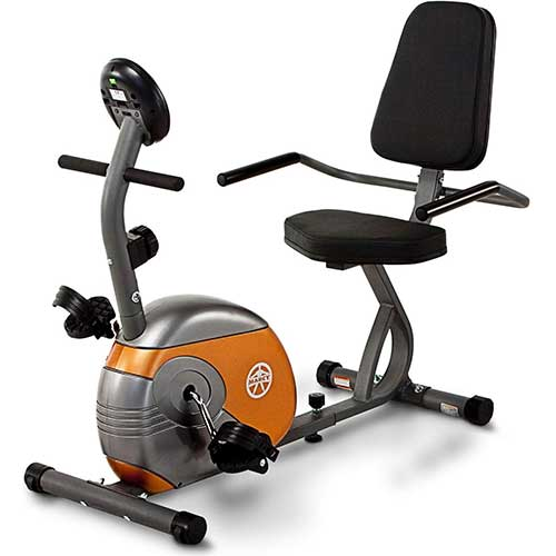 4. Marcy Recumbent Exercise Bike with Resistance ME-709