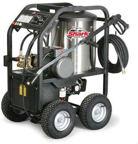 6. Shark STP-352007A 2,000 PSI 3.5 GPM 230 Volt Electric Hot Water Commercial Series Pressure Washer
