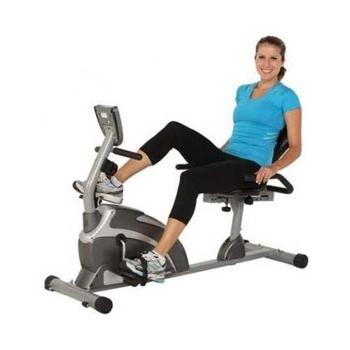 9. Exerpeutic 1000 Magnetic Hig Capacity Recumbent Exercise Bike