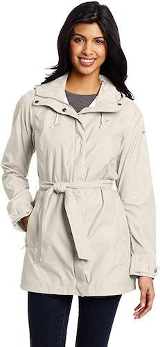 1. Columbia Women's Pardon My Trench Rain Jacket