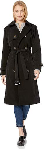 2. London Fog Women's Midi-Length Trench Coat