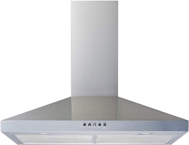 10. Winflo New 30 inch Convertible Stainless Steel Wall Mount Range Hood
