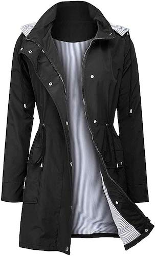 5. ZEGOLO Women's Raincoats