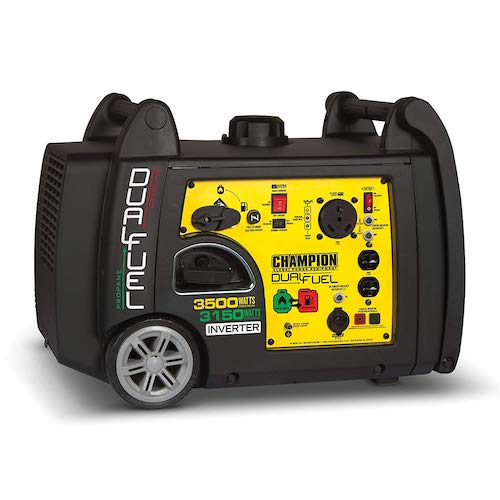 4. Champion 3500 Watt Portable Generator