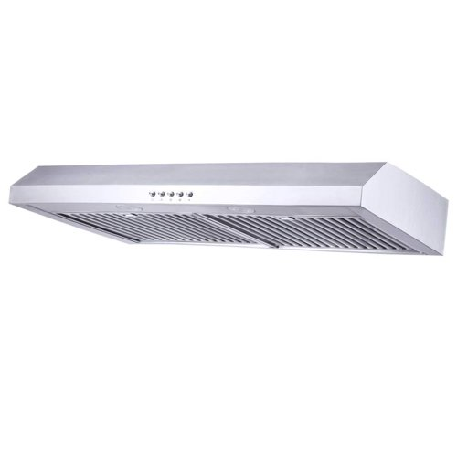 8. Range Hood 30 inch, Kitchenexus Stainless Steel 300CFM Ducted/ductless Under Cabinet Kitchen Vent Hood