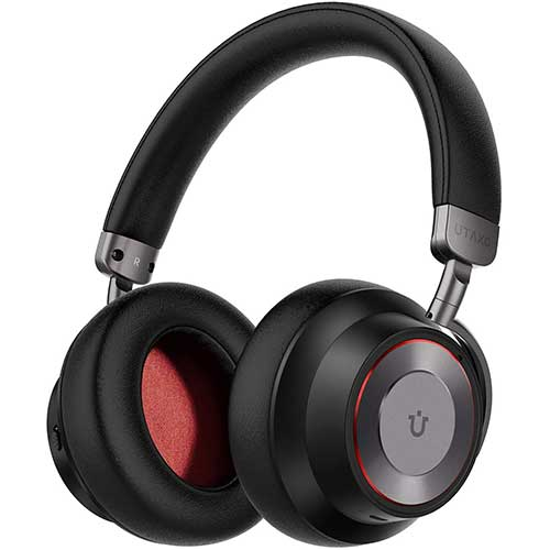 9. Noise Cancelling Headphones, Utaxo Bluetooth Headphones with Mic Wireless Headphones over Ear