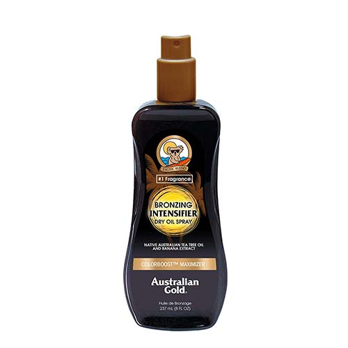 10. Australian Gold Bronzing Intensifier Dry Oil Spray, Colorboost Maximizer, 8 Fl Oz