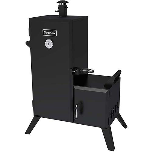 8. Dyna-Glo DGO1176BDC-D Charcoal Offset Smoker