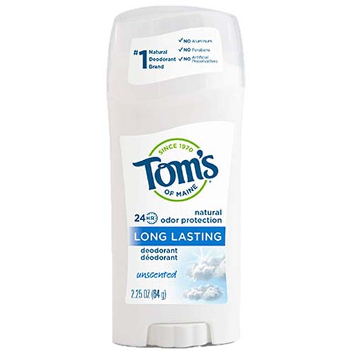 7. Toms of Maine Natural Deodorant Stick Unscented