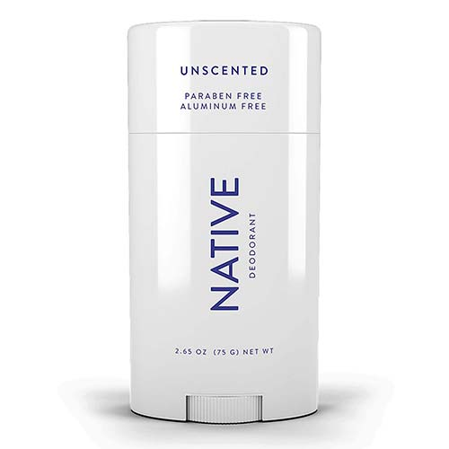 1. Native Deodorant - Natural Deodorant Unscented