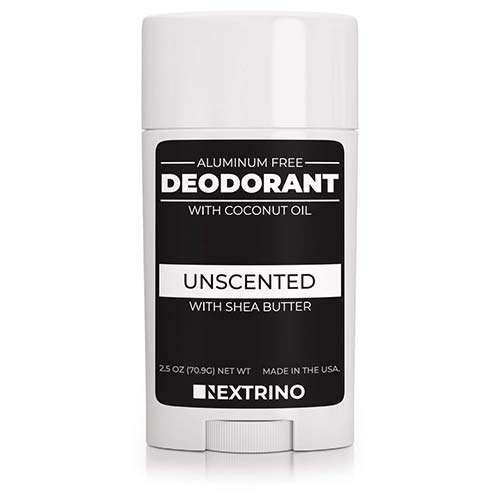 9. All Natural Aluminum Free Deodorant - Made in the USA with Coconut Oil & Essential Oils for Women and Men