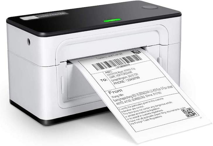 10. MUNBYN Label Printer, High Speed Direct USB Thermal Barcode 4×6 Shipping Label Printer Marker Writer Machine, One Click Set up,Compatible with Ebay,Amazon, FedEx,UPS,Shopify,USPS,Etsy